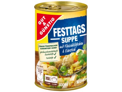G&G Sváteční polévka 400ml  - originál z Německa