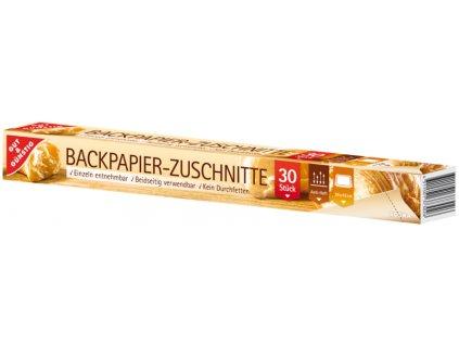 G&G Papír na pečení - útržky 30ks  - originál z Německa