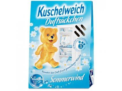 Kuschelweich Sommerwind vonné sáčky do skříně 3 ks  - originál z Německa