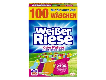 Weisser Riese Intensiv Color 100 praní, 5,5 Kg
