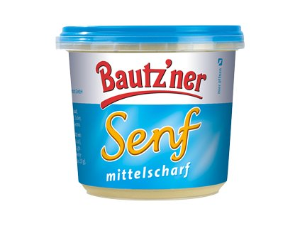 Bautzner Středně pálivá hořčice 200 ml