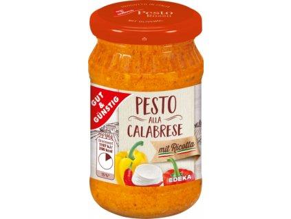 G&G Pesto alla calabrese s ricotta sýrem 190g