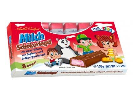 Truffout Mléčná čokoláda s jahodovo–jogurtou náplní 8 ks, 100g5