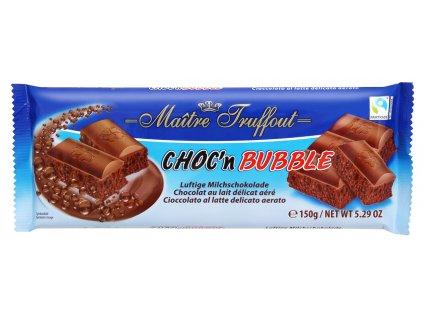 Truffout Mléčná 'bublinková' čokoláda 150g