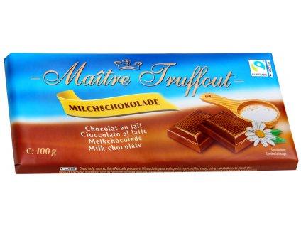 Maitre Truffout mléčná čokoláda 100g