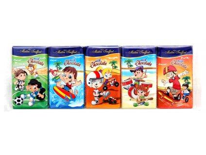 Maitre Truffout Mléčná čokoláda pro děti 5 x 15g