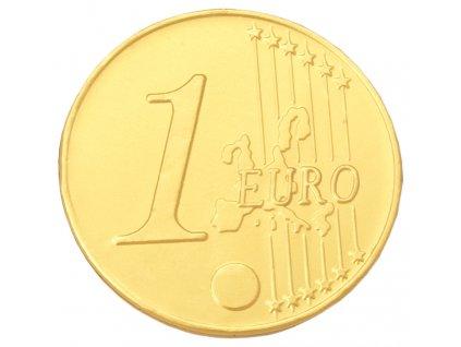 Obří čokoládová mince 1 ks, 21,5 g