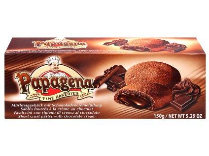 Papagena Piškoty s čokoládovou náplní 150g