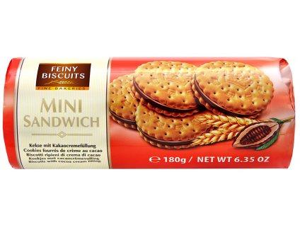 Biscuits Sendvičové sušenky s čokoládovou náplní 180g