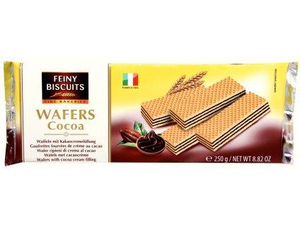 Biscuit Vaflové oplatky s krémovou čokoládovou náplní 250g