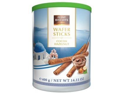 Biscuit Kakaové trubičky s lískooříškovým krémem 400g2