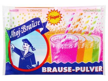Ahoj Brause Šumivý prášek na výrobu nápojů 10 ks, 58g
