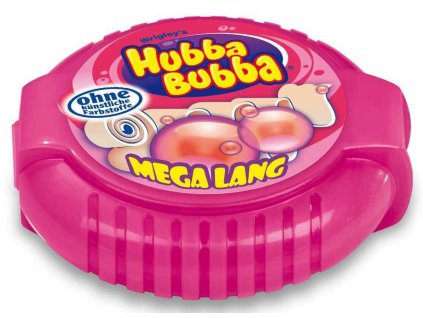 Hubba Bubba Tape Fancy Fruit s ovocnou příchutí 56g