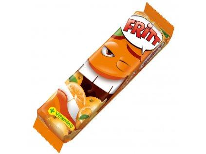 Fritt Žvýkací bonbony POMERANČ s vitamínem C, 70g