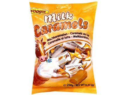 Woogie Mléčné karamelky 250g