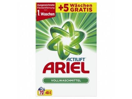 Ariel Actilift univerzální prací prášek 4,55 kg 70 vyprání