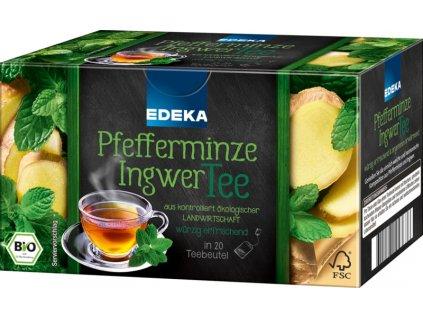 Edeka Mátový čaj se zázvorem 20 sáčků, 40g