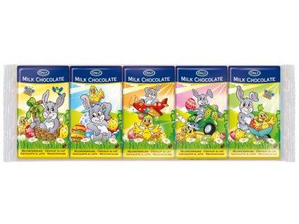 Only Mléčná čokoláda pro děti s velikonočním motivem 5 x 15g