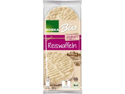 Edeka Rýžové chlebíčky s jogurtovou polevou 100g