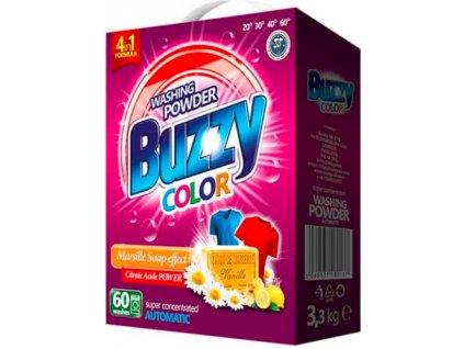 Buzzy Color prací prášek s marseillským mýdlem 60 dávek