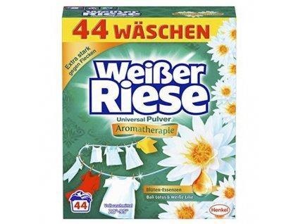 Weisser Riese Bali Lotus & Bílý leknín prášek na praní, 44 PD