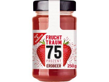 G&G Premium jahodový džem se 75% ovoce, 250g