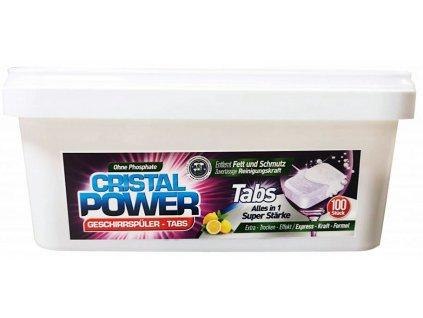 Cristal Power Tabs tablety do myčky v rozpustném obalu 100ks