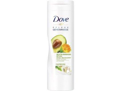 Dove revitalizační rituál avokádový olej tělové mléko, 400 ml