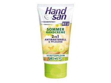 Handsan Sommer antibakteriální a pečující krém na ruce 75ml
