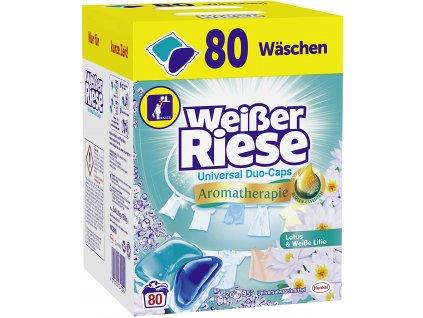 Weisser Riese Universal Duo Caps Lotus & bílá lilie 80 ks