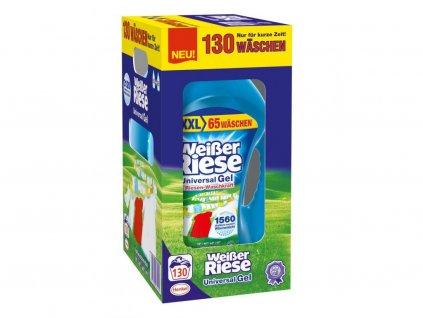 Weisser Riese Kraft Gel 130 dávek, 2 x 3,25 l