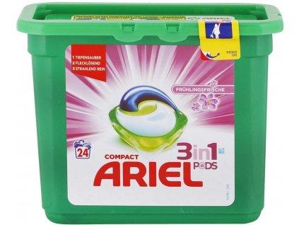 Ariel 3v1 gelové prací kapsle jarní svěžest 24 ks