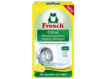 Frosch Eko hygienický čistič pračky citrón 250g