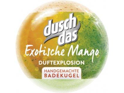 Duschdas šumivá bomba do koupele exotické mango 100g