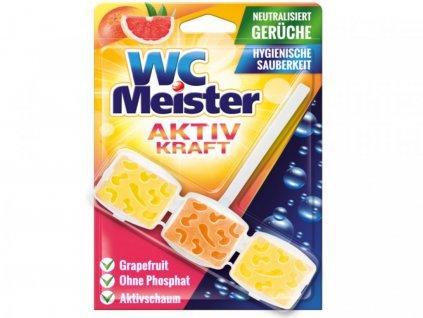 WC Meister Aktiv Kraft Závěsný blok do WC grapefruit 45g