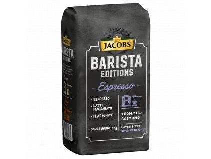 Jacobs Barista Caffe Crema, zrnková káva 1kg