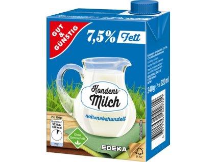 G&G Kondenzované mléko 7,5%, 340 g