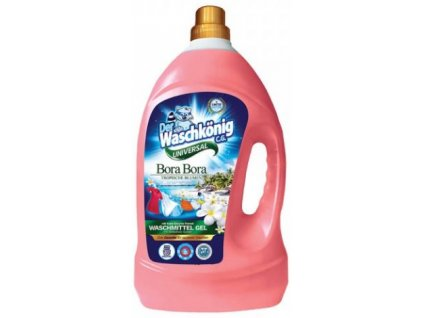 WaschKönig gel 4l Bora Bora Universal, 133 dávek