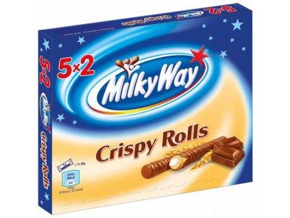Milky Way Crispy Rolls 5x2ks, 112,5