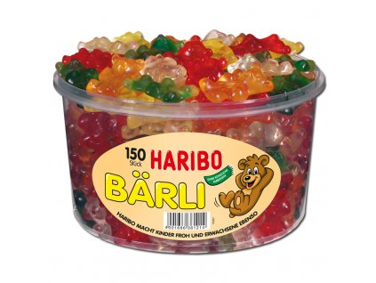 2869 Haribo Baerli Fruchtgummi 150 Stueck