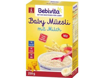 Bebivita Baby Müesli s mlékem, 250 g