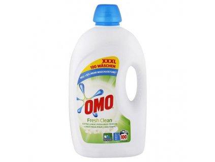 OMO Fresh Clean univerzální prací gel 5l XXXL, 100 pracích dávek