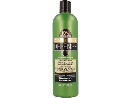 DAILY DEFENSE hydratační šampon s bambuckým máslem 473 ml