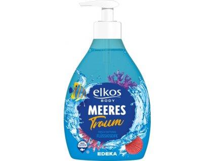 Elkos Mořský sen tekuté mýdlo s dávkovačem 500ml