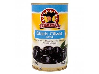 Schwarze Oliven entsteint 350g Bild 1 Zoombild