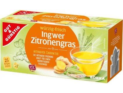 G&G Zázvorový čaj s citrónovou trávou 25 sáčků, 43,75g