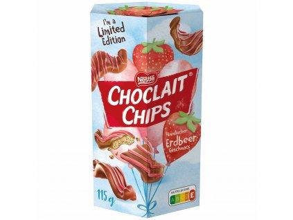 Nestlé Choclait Chips Jahodové 115g
