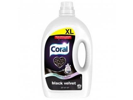 Coral Black Velvet Prací gel na tmavé prádlo 2,5 l, 50 dávek