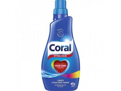 Coral Optimal Color prací gel 1,1l, 22 dávek pracích dávek