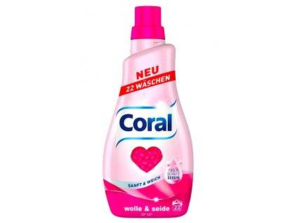 Coral Wolle & Seide prací gel na vlnu a hedvábí 22 dávek, 1,1l